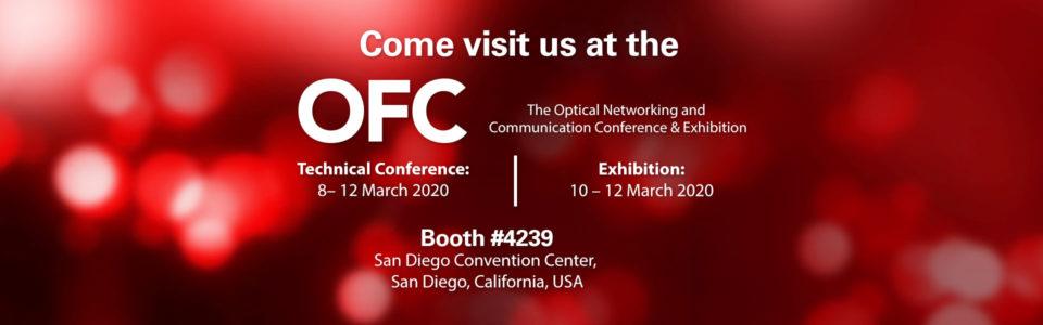XENOptics OFC 2020 Tradeshow Banner